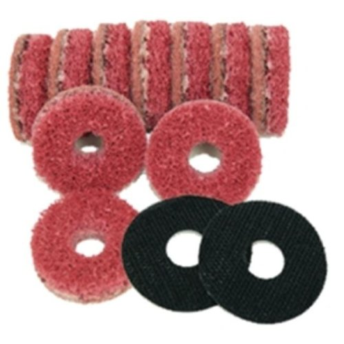 The Main Resource MI987 2 in. Replacement Pads for Hub Cleaning Tool Kit - Pack of 10