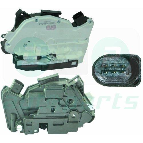 Left Hand Side Rear Door Lock Mechanism for Seat Ibiza (2009-2011) 5N0839015G