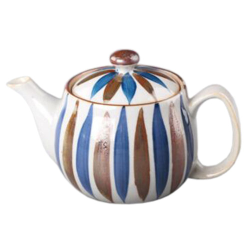 Japanese Teaware Domestic Teapot Ceramic Kettle Tea Pots Coffeepot #02
