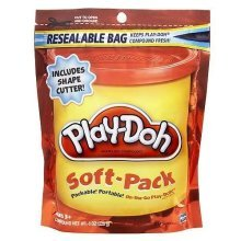 Play-Doh Soft- Pack - Orange