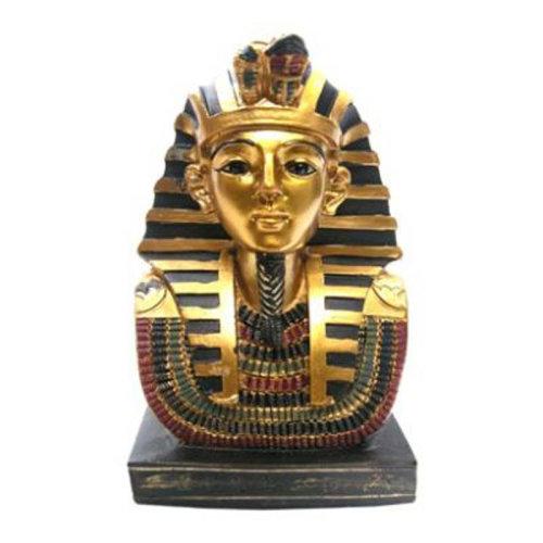 Decorative Gold Egyptian 11cm Tutankhamen Bust