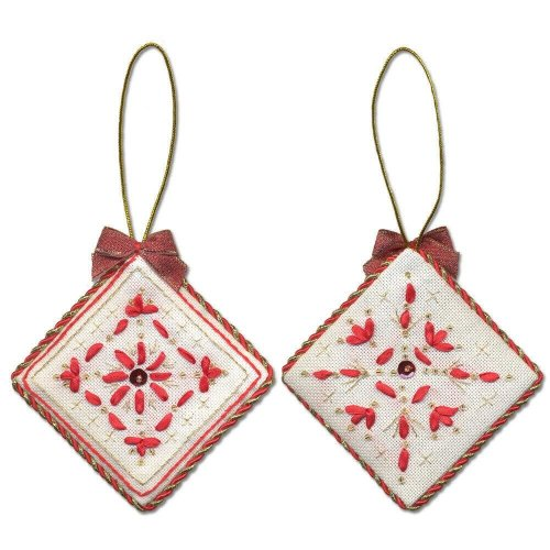 Panna Embroidery Kit - IG-1273 Christmas Decoration. Diamond -  beads,ribbons