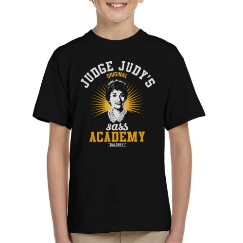 Judge Judys Sass Academy Kid's T-Shirt