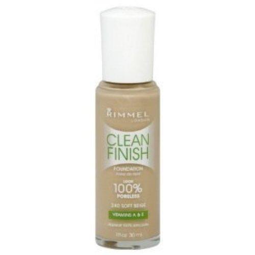 Rimmel London Clean Finish Foundation Warm Sand # 420